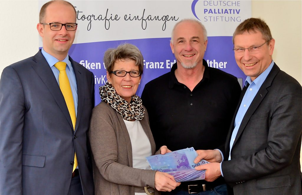 Übergabe 5000 Euro Deutsche Palliativstiftung an Hospiz Förderverein Fulda_Brand-Sitte